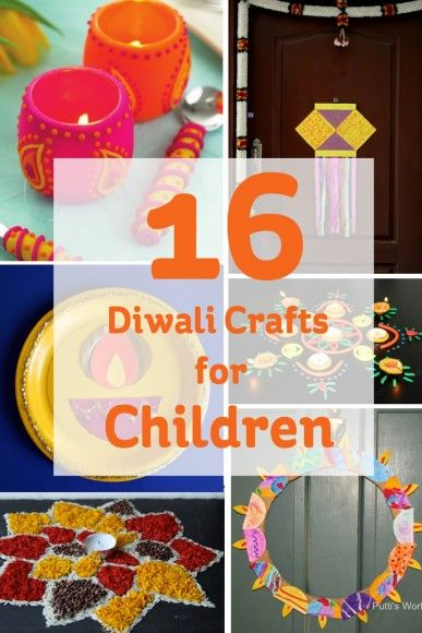 16 Diwali Crafts for Children #diwali #craft #kids                                                                                                                                                     More