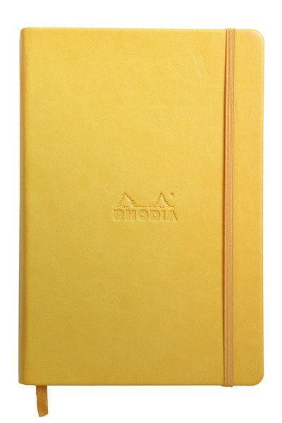 RHODIA Rhodiarama Yellow Lined 90 g 96 sh 5 ½ x 8 ¼