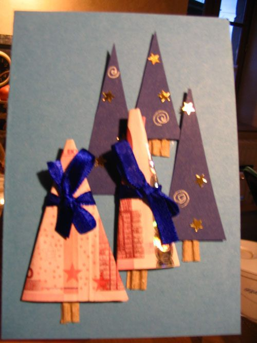 carte cadeau : offrir de l'argent à Noël
