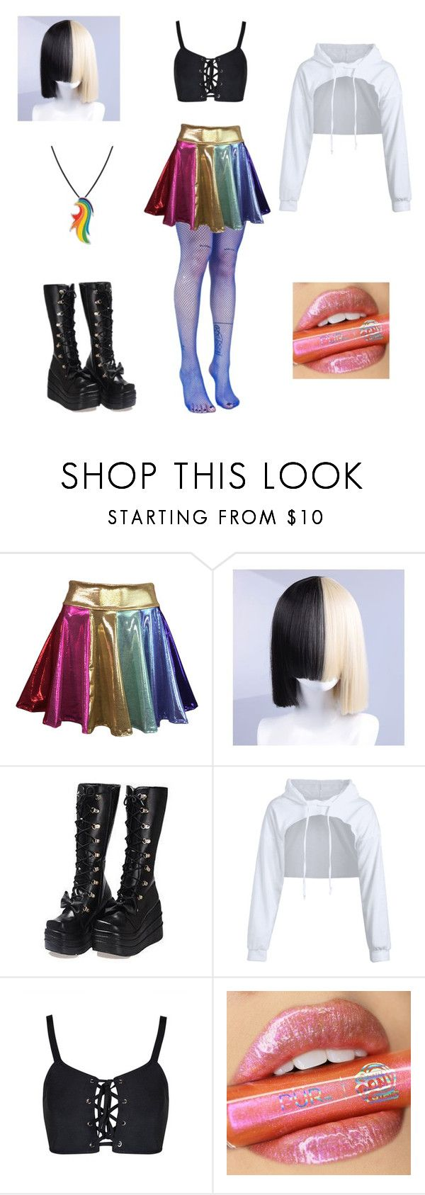 """""Rainbow"" ~ by Sia (My Little Pony movie)"" by valaquenta ❤ liked on Polyvore featuring Coshome and My Little Pony"