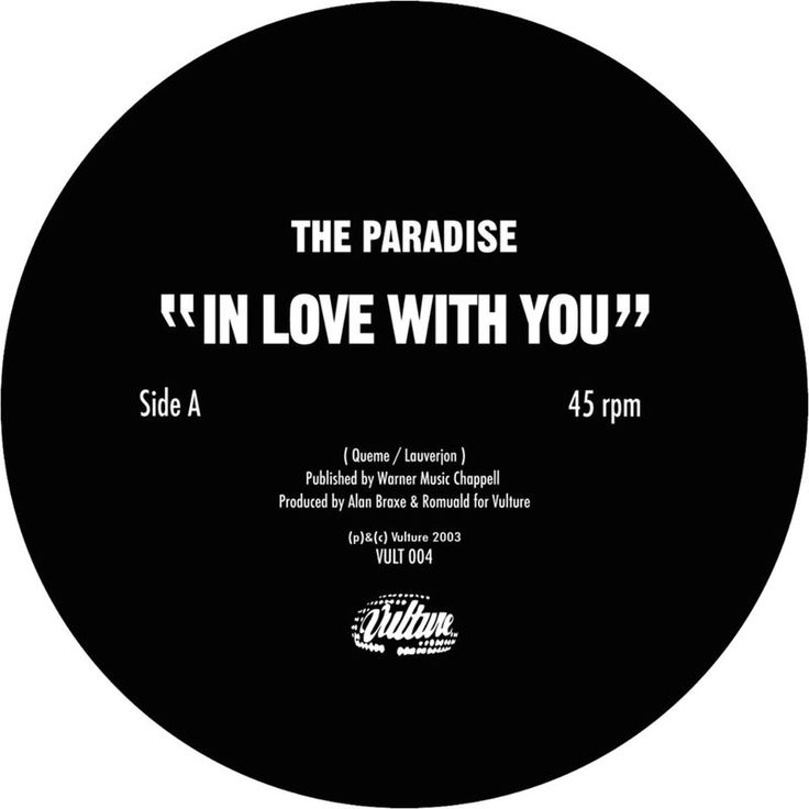 In Love With You by The Paradise - In Love With You - Single