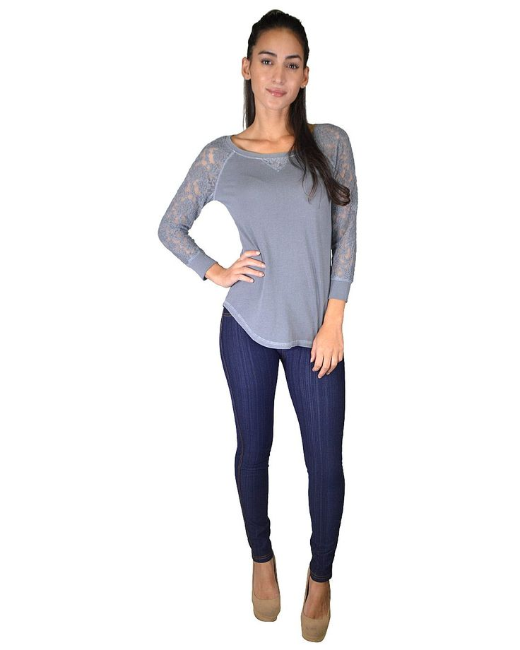 Mesh Sleeves Round Neck Curved Hem Top In Just $7.99 #affordable plus size clothing, #buy cheap clothes online, #buy clothes online, #buy clothes online, #cheapclothes, #cheap clothes for women, #cheap clothes online, #cheap clothing, #cheap clothing online, #cheap clothing sites, #cheap clothing stores, #cheap clothing stores online, #cheap clothing websites, #cheap fashion clothes, #cheap fashionable clothes, #cheap junior clothing, #cheap online clothing stores, #cheap online shopping