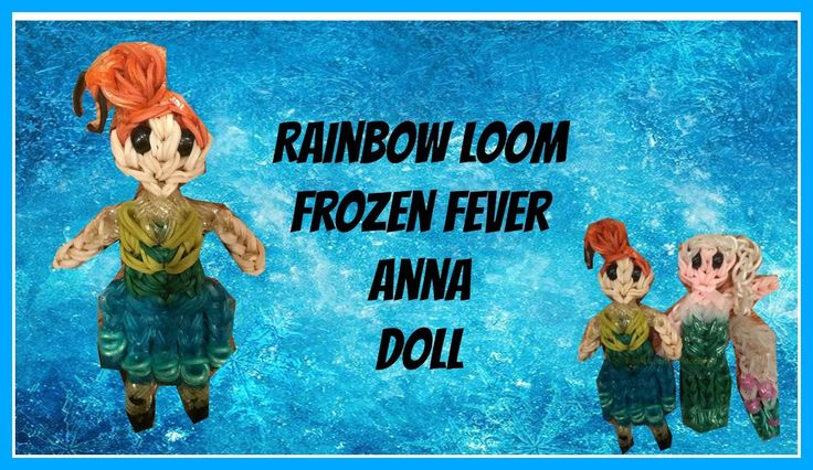Rainbow Loom Frozen Fever Anna How To/Tutorial