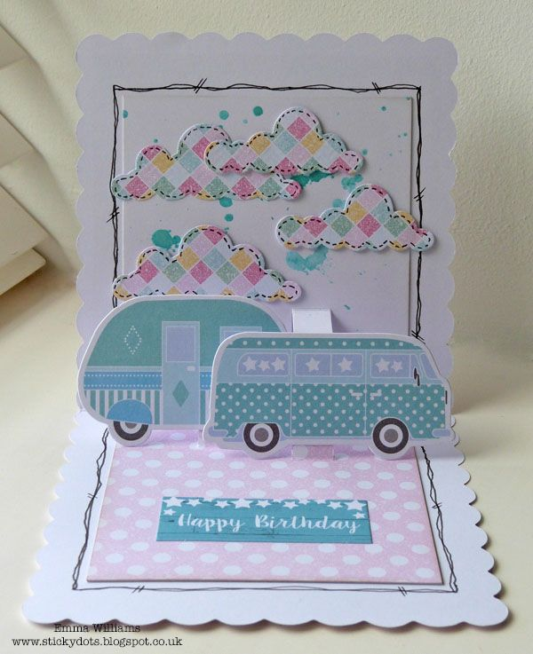Craftwork Cards Blog: Seaside Summer inside pop up card