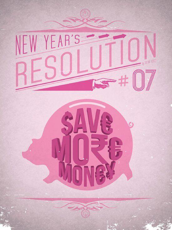 Top 12 des posters minimalistes de bonnes résolutions du nouvel an