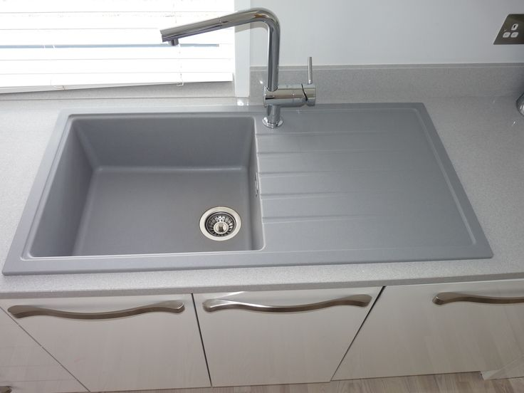Blanco new sink with side tap position giving way for a large bowl