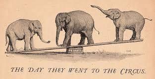 Resultado de imagen para erotic card vintage elephant