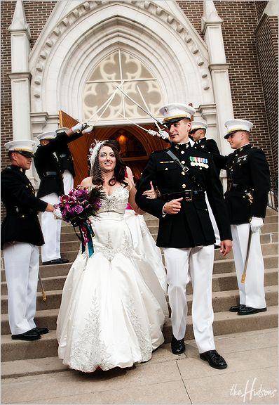 Usmc officer wedding