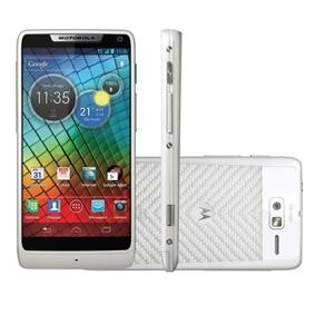 Celular Desbloqueado Motorola RAZR™ i Branco c/ Processador Intel® de 2 GHz, Tela de 4.3'', Android 4.0, Câm. 8MP, Wi-Fi, 3G, NFC, GPS - Tim - Smartphones no Pontofrio.com