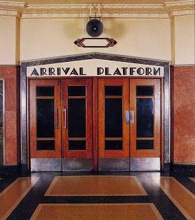 Art Deco font via Transpress NZ