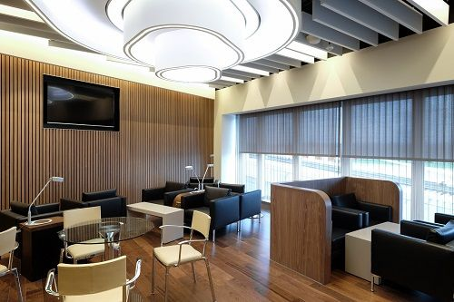 #grg feature ceiling #elal lounge at Heathrow. Up for #FIS 2016 award.