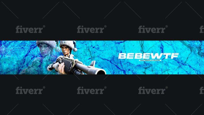 Abdeldzns I Will Design Fortnite Banner Or Header For Your Socials For 5 On Fiverr Com Gaming Banner Banner Design Banner