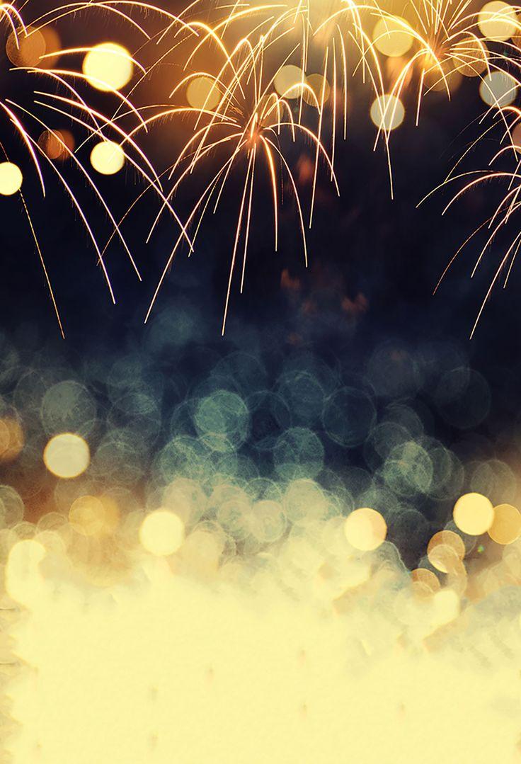 Bokeh Blurred Backdrops Fireworks Background Seamless