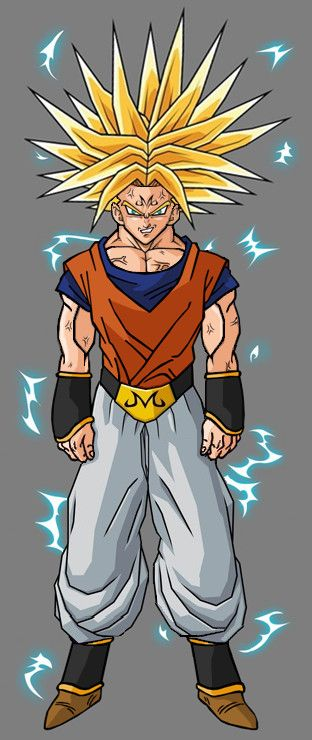 Majin Super Trunks by ~hsvhrt on deviantART