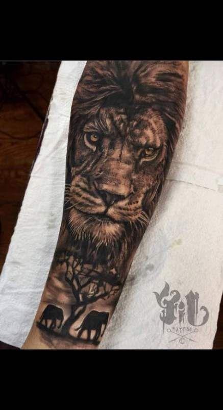 34 Trendy Tattoo Lion Sleeve Design Tigers Lion Tattoo Sleeves Animal Sleeve Tattoo Lion Sleeve