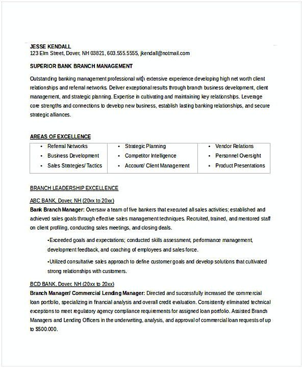 Bank Branch Manager Resume Resume For Manager Position Many Of Us Interested In Being Manager Manager Resume Job Resume Samples Resume Objective Examples