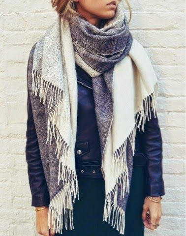 How to Chic: HOW TO WEAR A SCARF