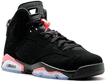 new style bfe41 3cd3b NIKE Jungen Air Jordan 6 Retro Bg Turnschuhe, schwarz