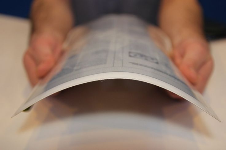 PaperTab: Tablet berbentuk Kertas