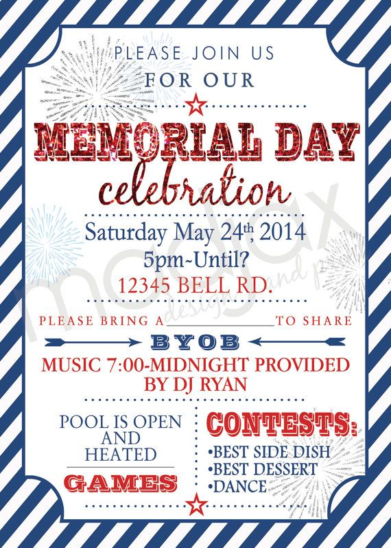memorial day celebration ideas for church