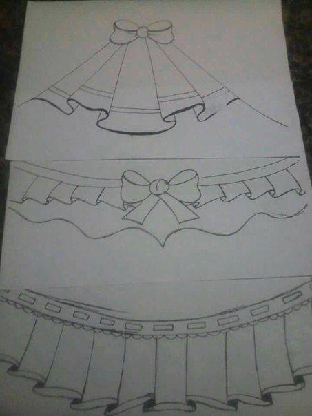 Рисуем складочки
