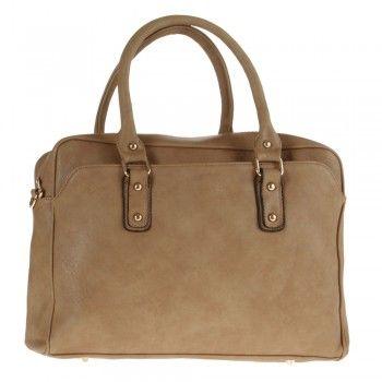 torba na laptop ze skóry ekologicznej P-11 beżowa
