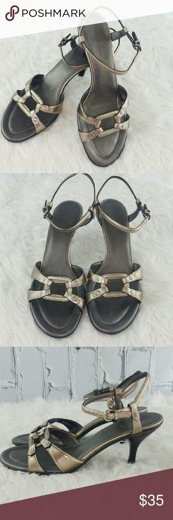 "💞SALE💞 Beautiful Silver Cole Haan Sandles Beautiful Silver Cole Haan Sandles 3"" heel Great Condition Cole Haan Shoes Sandals"