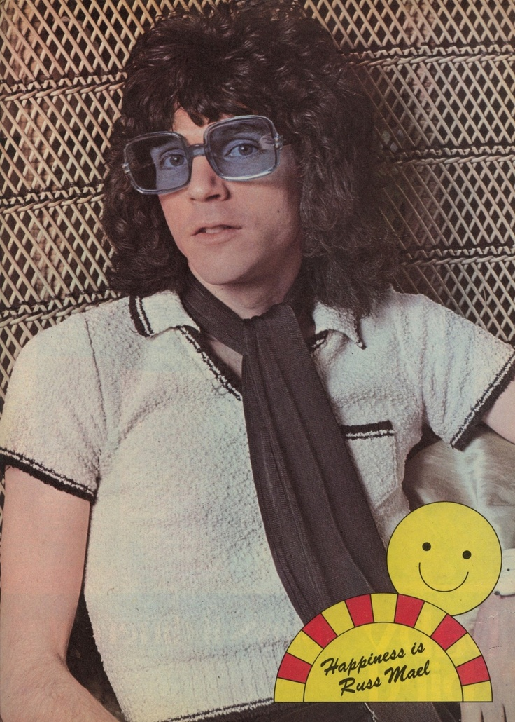 Russell Mael from Mirabelle, September 1974.