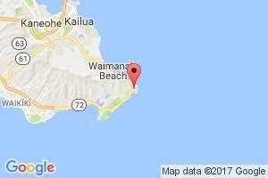 Google Map of Makapu'u Point Lighthouse Trail