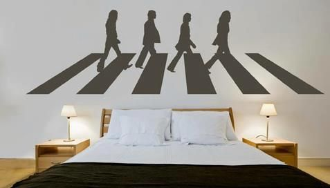 Best 20 vinyl wall art ideas on pinterest for Abbey road wall mural