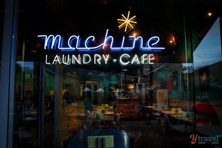 Machine Laundry cafe Hobart, Tasmania, Australia