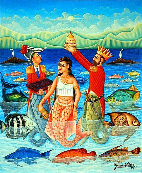 ''La reina del mar'' Gérard Valcin - Haiti.
