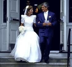Caroline Kennedy and Edwin Schlossberg, July 19, 1986