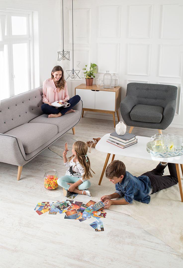 Tu living puede ser tu espacio de relax o el centro de juego de tus hijos. #Muebles #Easytienda #Decoración #Combinaciones