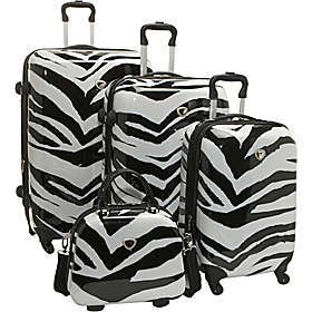 International Traveler Zebra Collection | Luggage Universe