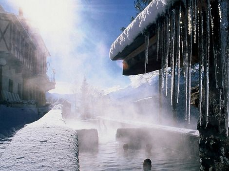 Winter's coming soon...what a beautiful place! Alta Valtellina spa resort gailmencini.com
