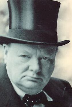 says country winston churchill born in bathroom the link