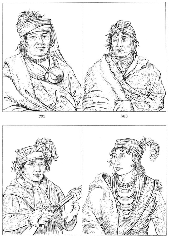 Seminole chiefs, Fort Moultrie, South Carolina