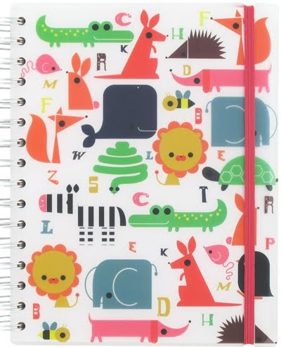 Paperchase Animals Notebook.