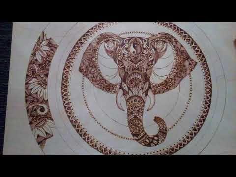 Elephant india mandala