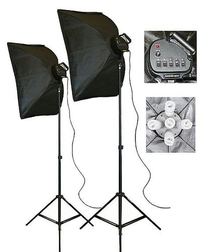 Photography Video Studio Portrait Softbox Lighting Kit | eBay#vi-content