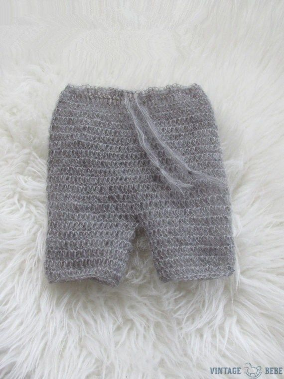Photography Props Crochet Baby Shorts