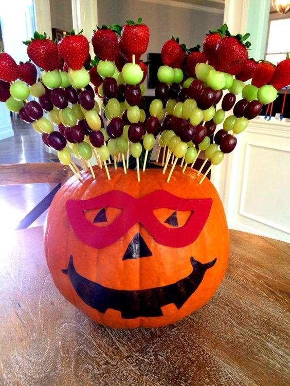 Halloween Appetizers, Snacks and Fun Halloween Party Food – Fruit Kabobs