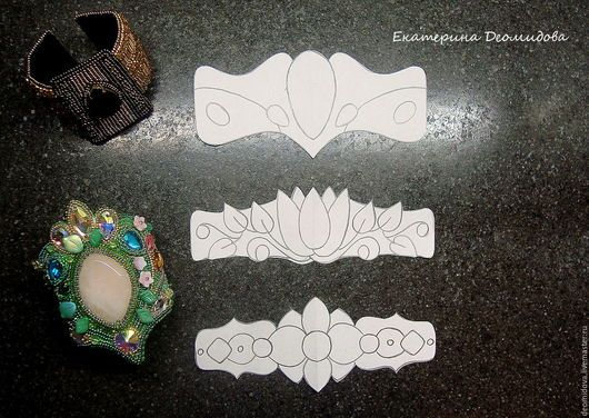 handmade teaching materials.  Fair Masters - handmade.  Buy Set copyright of patterns to create bracelets, 3 pcs .. Handmade.