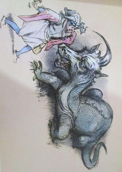 """""""The Beauty and the Beast"""" - La Bella e la Bestia. Illustrations by  Marino (Marino Guarguaglini)"""