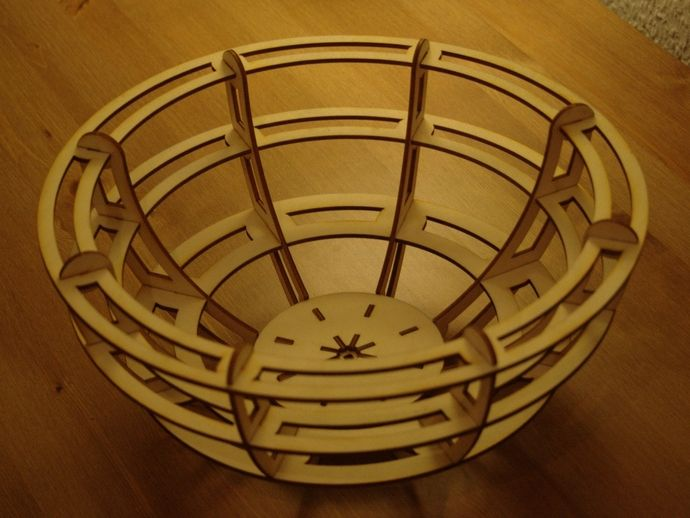 Laser cut Bowl by WilstonOreo - Thingiverse