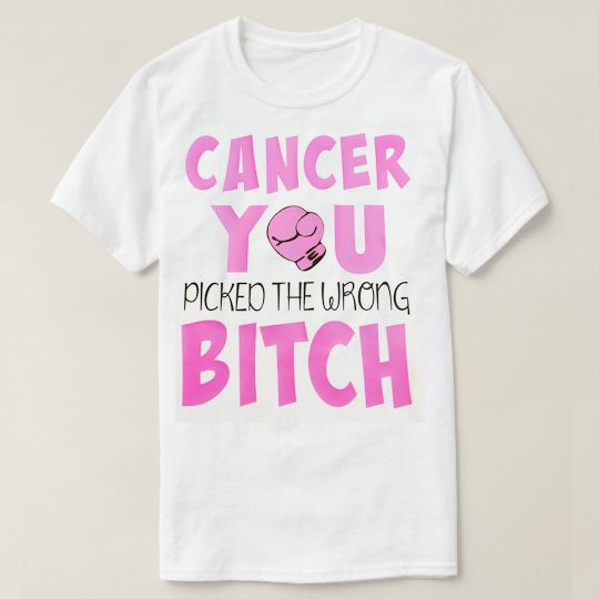 Boxing Gloves For Cancer Custom Shirts