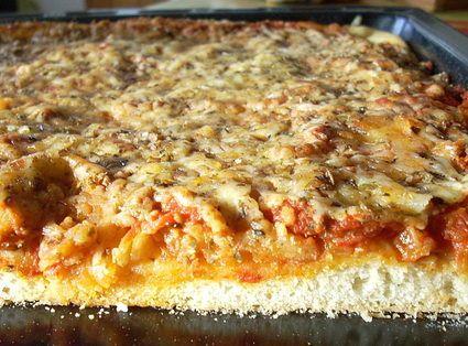Pizza sfincione - Palerme