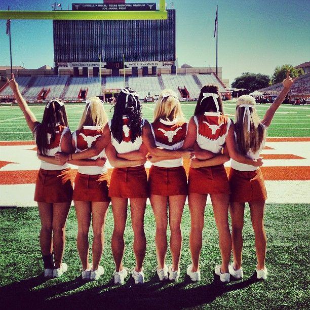 Texas cheerleaders