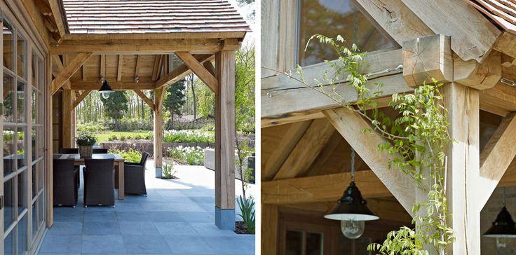 Eiken bijgebouw poolhouse bijgebouw pinterest terras tuinverlichting en huis interieur - Claustra ontwerp pour terras ...